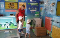 The ECOTIC Caravan and its projects for the general public 20150701_103139