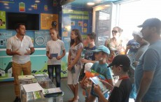 The ECOTIC Caravan and its projects for the general public 20150706_114729