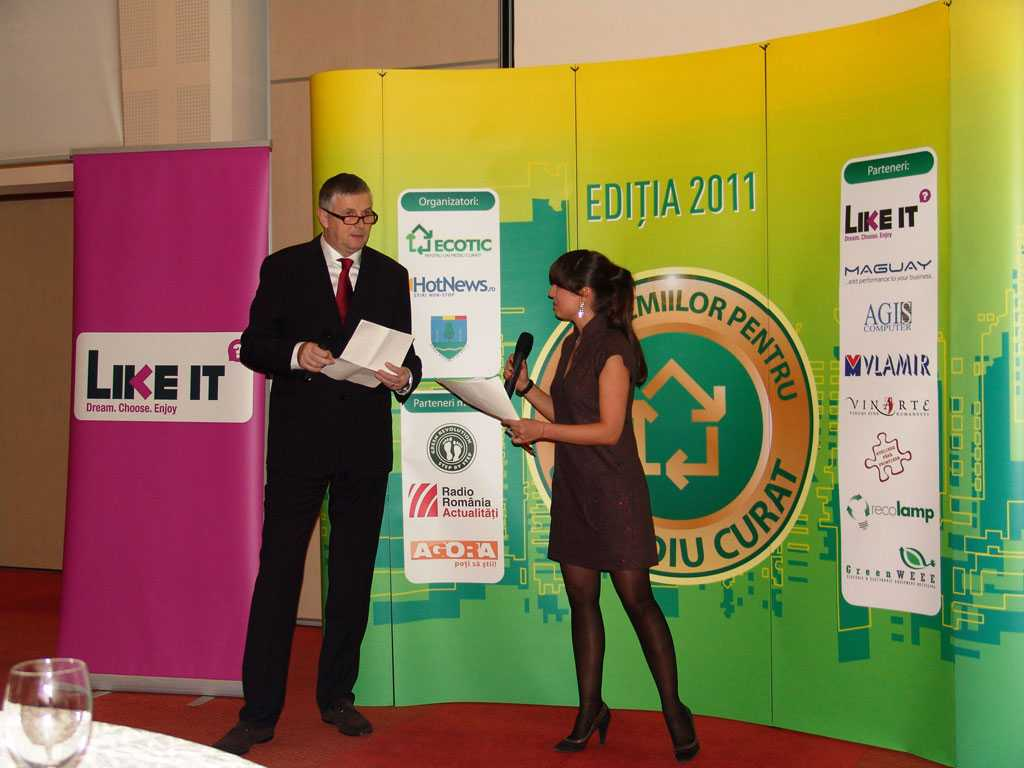 Awards Gala for a Clean Environment - third edition