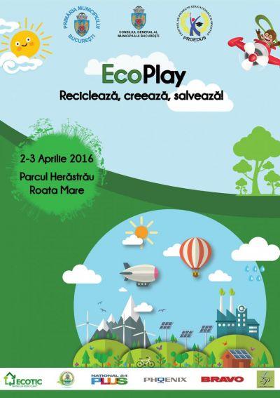 """Caravana ECOTIC parte din evenimentul """"EcoPlay recicleaza, creeaza, salveaza"""""""