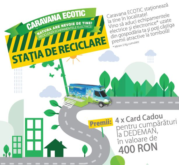Recycling Station - WEEE collection campaign in rural Brasov, September-November 2016