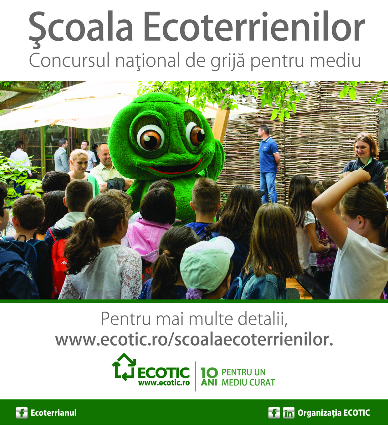 Ecoterrians' School - campaign in schools (2016-2017)