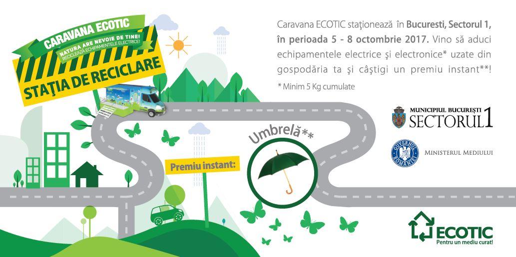 STATIA DE RECICLARE – Sectorul 1, Bucuresti – 5 – 8 octombrie