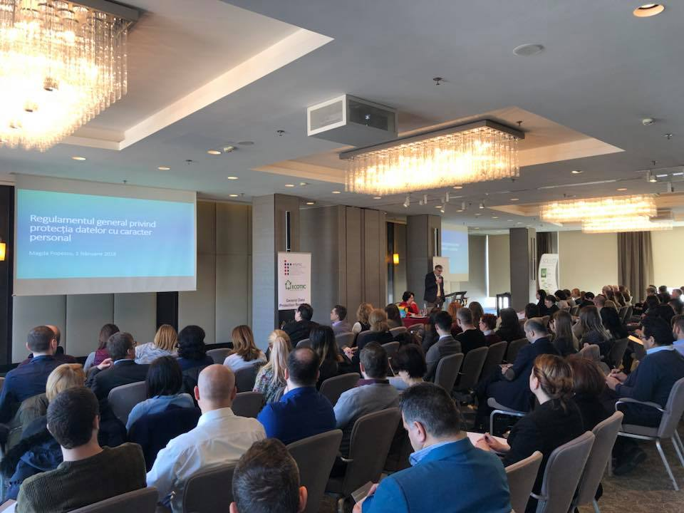 GDPR Seminar organized by APDETIC, with the support of ECOTIC