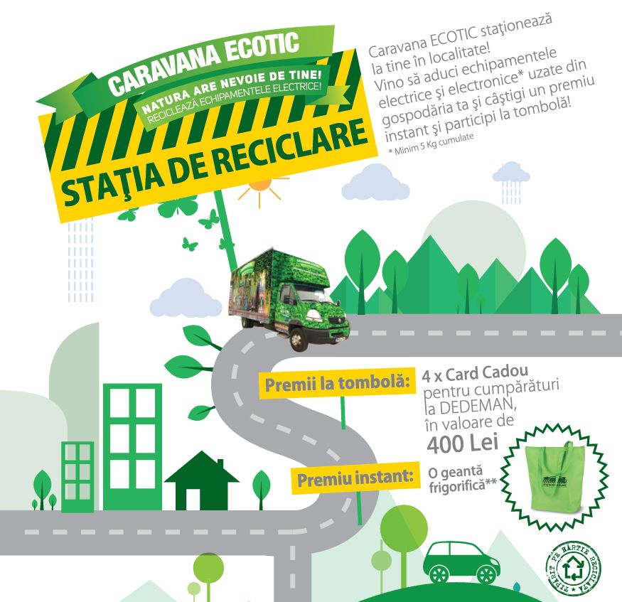 STATIA DE RECICLARE – HUNEDOARA – MARTIE – APRILIE, 2018