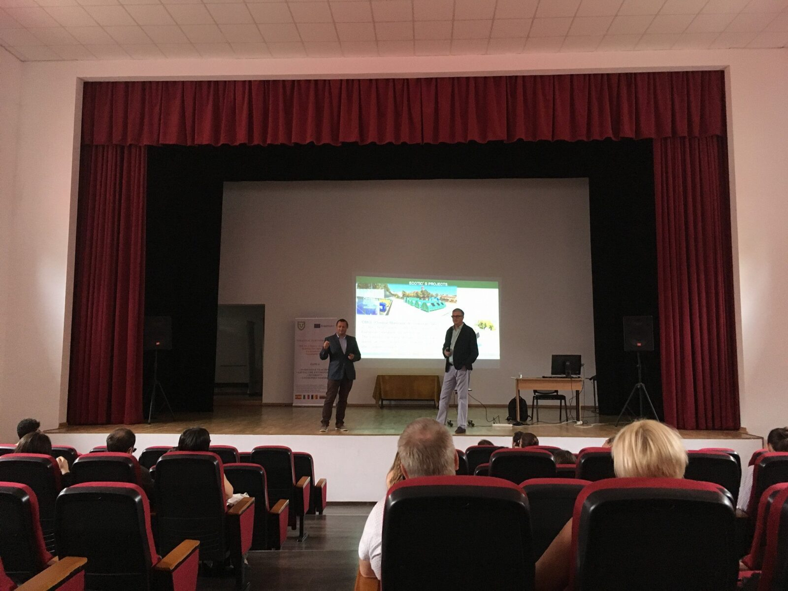 ECOTIC VISITED THE TUDOR VIANU NATIONAL COLLEGE OF COMPUTER SCIENCE