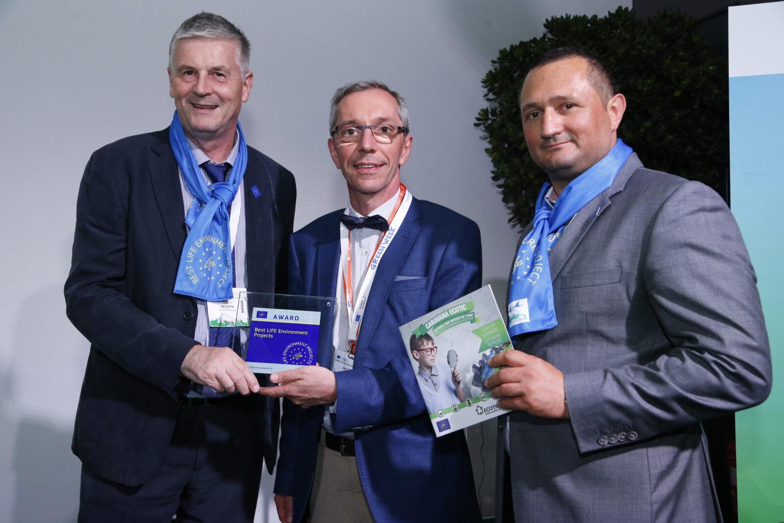 """ECOTIC CARAVAN"" Awarded at EU GREENWEEK 2018"