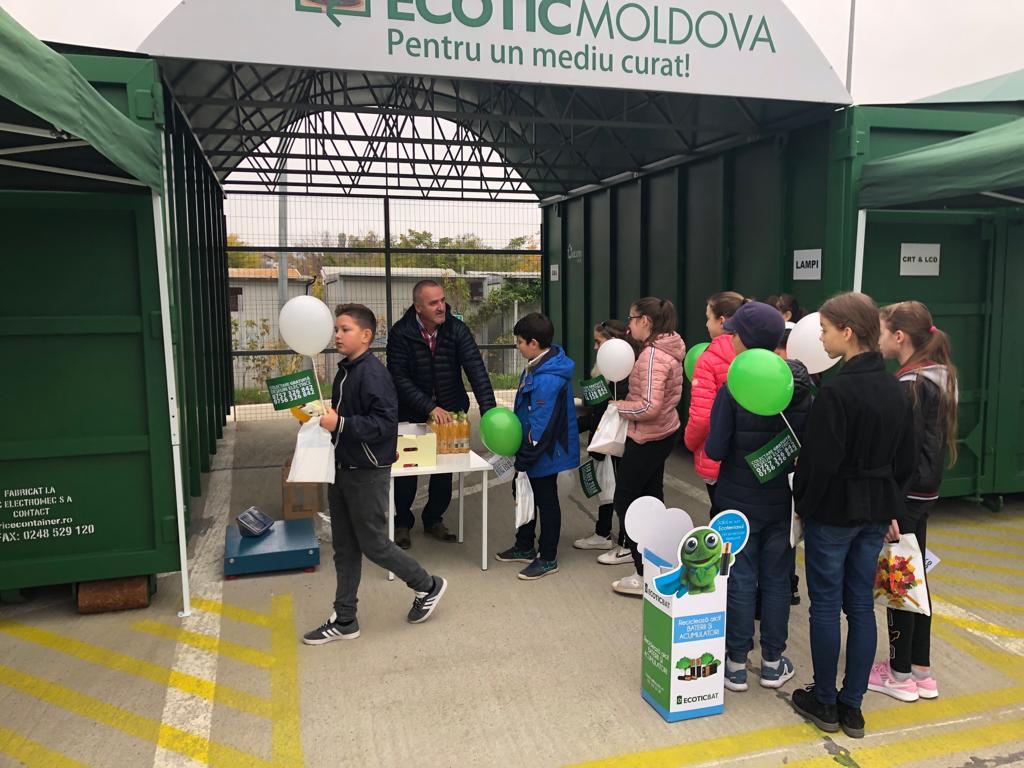 ECOTIC isi extinde operatiunile la Iasi prin noul centru de colectare ECOTIC MOLDOVA