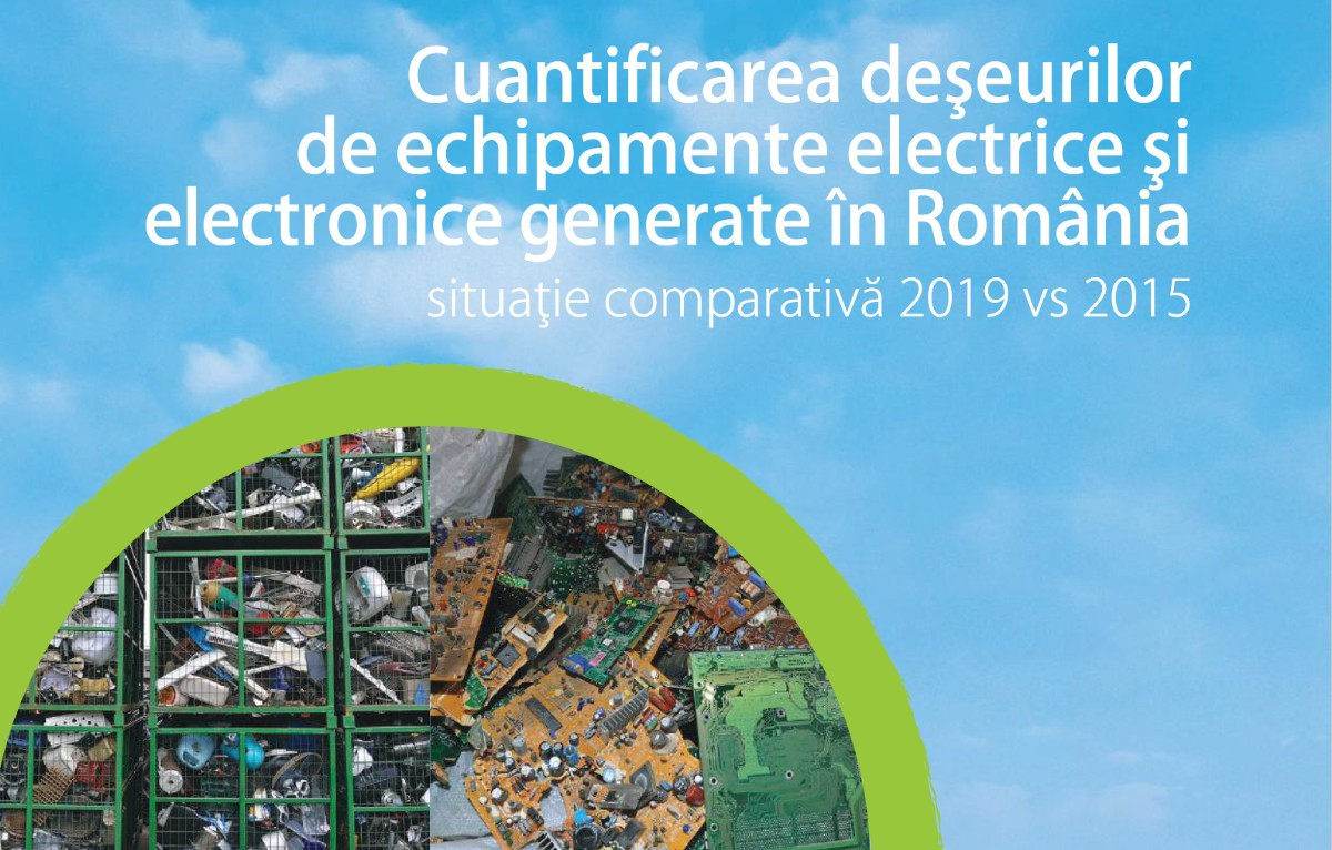 """ECOTIC LAUNCHES THE STUDY """"QUANTIFICATION OF WASTE OF ELECTRIC AND ELECTRONIC EQUIPMENT GENERATED IN ROMANIA, COMPARATIVE STUDY 2019 VS 2015"""""""