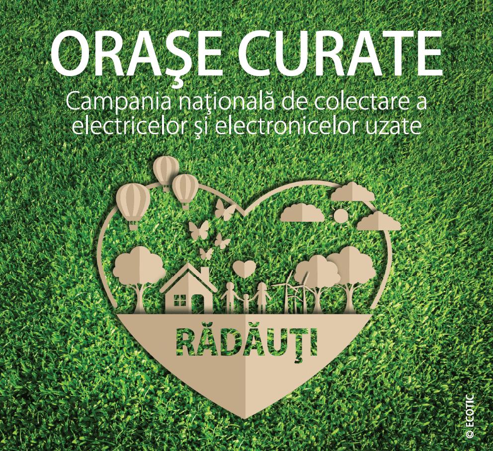 ORAȘE CURATE: RĂDĂUȚI, 18 – 29 NOIEMBRIE 2019