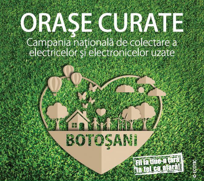 ORAȘE CURATE: Botosani, 9 – 31 MARTIE 2020