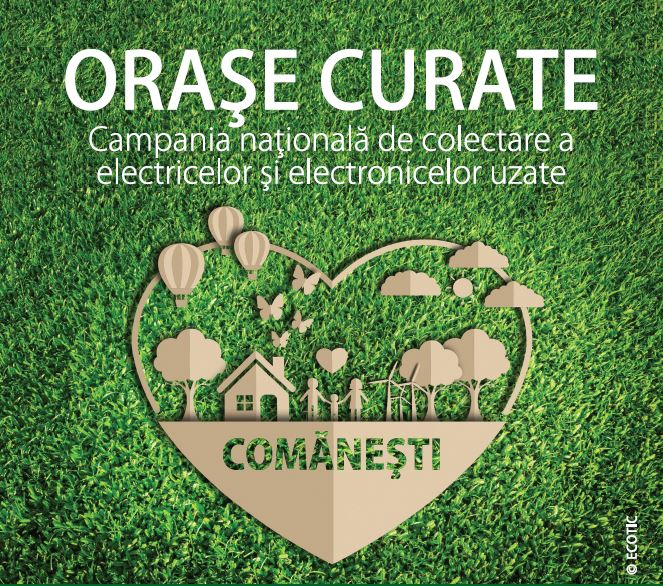 CLEAN CITIES: COMĂNEȘTI, 27 - 31 JULY 2020