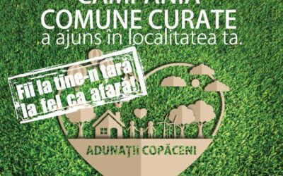 COMUNE CURATE ADUNATII COPACENI, 31 AUGUST – 4 SEPTEMBRIE 2020