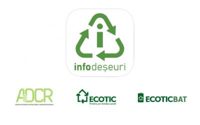 S-a lansat aplicația InfoDeșeuri!