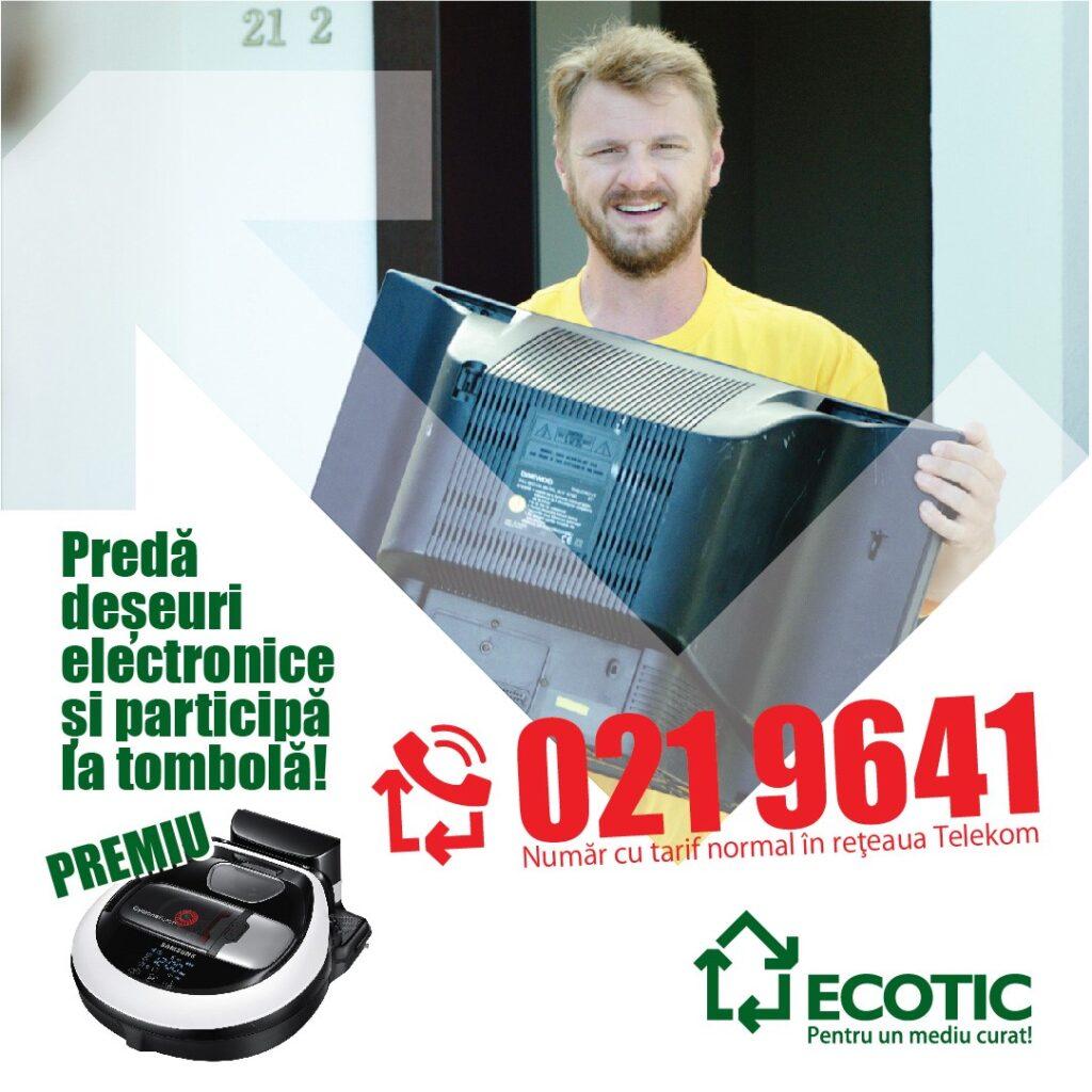 predare a deșeurilor electrice și electronice.