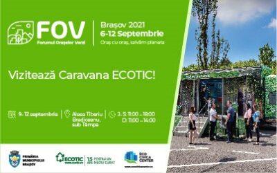 ECOTIC participates in the Green Cities Forum in Brașov!