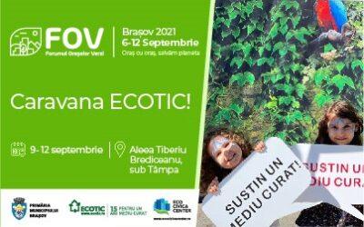 ECOTIC partner of the Green Cities Forum in Brașov