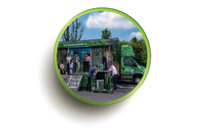 ECOTIC Caravan - the only mobile museum of electrical waste in Romania